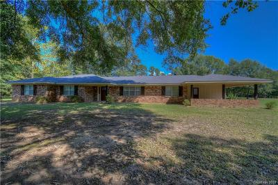 Haughton Single Family Home For Sale: 1577 Camp Zion Road