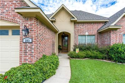 Haughton Single Family Home For Sale: 203 Pearwood