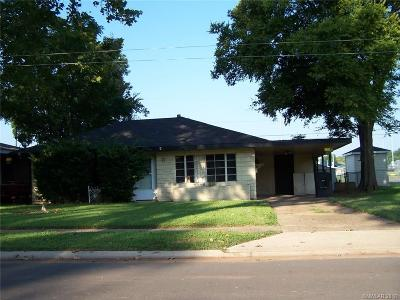 Bossier City Single Family Home For Sale: 1013 Clarence Street