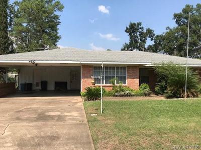 Shreveport Single Family Home For Sale: 4422 Lakeshore Drive