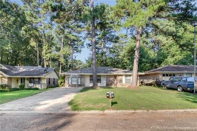 Haughton Single Family Home For Sale: 2633 Oakside Drive