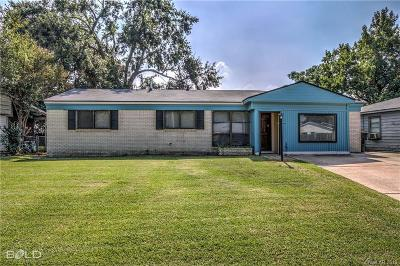 Bossier City Single Family Home For Sale: 1029 Norris Drive