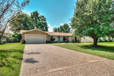 Bossier City LA Single Family Home For Sale: $194,500