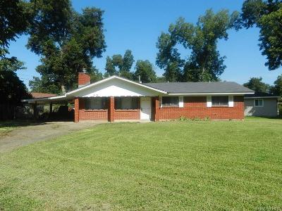 Bossier City LA Single Family Home For Sale: $70,000