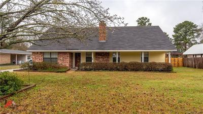 Benton Single Family Home For Sale: 1322 Palmetto Road