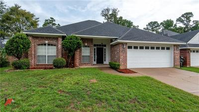Haughton Single Family Home For Sale: 164 Dogwood South Lane