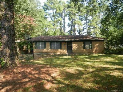 Shreveport LA Single Family Home For Sale: $44,000