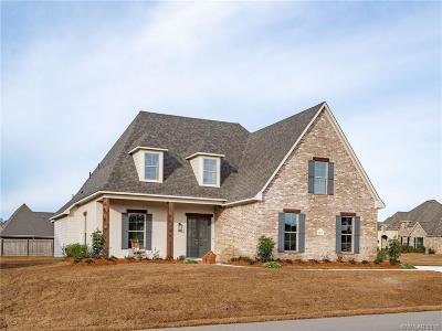 Haughton Single Family Home For Sale: 2851 Sunrise Pointe