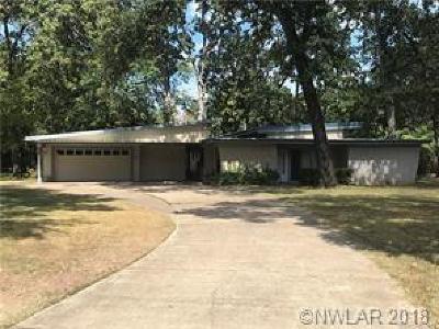 Shreveport Single Family Home For Sale: 9239 Walker Road