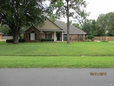Bossier City Single Family Home For Sale: 239 Ridgefield Drive