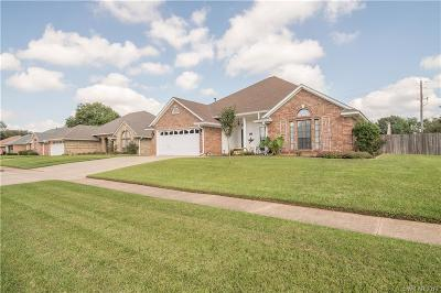 Bossier City Single Family Home For Sale: 5705 Bayou Drive