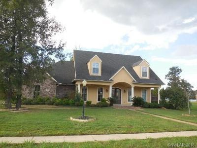Shreveport Single Family Home For Sale: 9970 Burgundy Oaks Drive