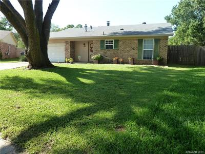 Bossier City Single Family Home For Sale: 2125 General Rusk Lane