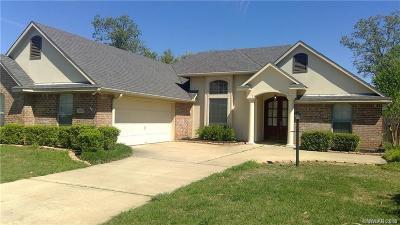 Shreveport Single Family Home For Sale: 10429 Plum Creek Drive