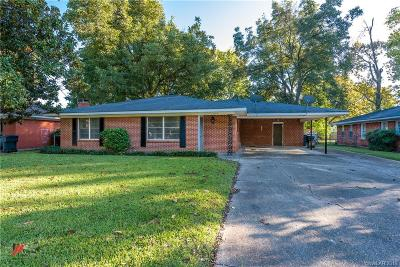 Bossier City Single Family Home For Sale: 2414 Douglas Drive