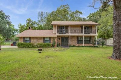 Shreveport Single Family Home For Sale: 3414 Hickory Ridge Road