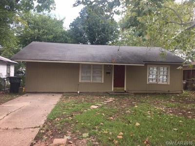 Bossier City Single Family Home For Sale: 1326 Michael Street