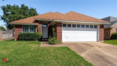 Bossier City Single Family Home For Sale: 3303 Salem Place