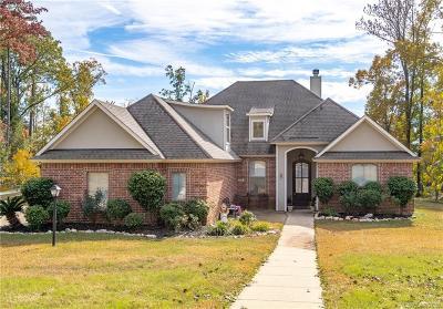 Haughton Single Family Home For Sale: 808 Grey Fox