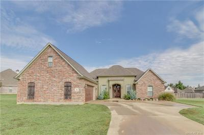 Haughton Single Family Home For Sale: 512 Pebble Drive