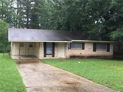 Shreveport Single Family Home For Sale: 9259 Simmons Place