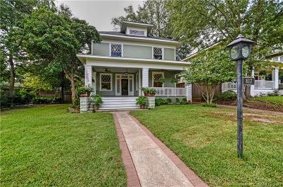 Shreveport Single Family Home For Sale: 817 Wilkinson Street
