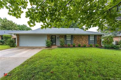 Shreveport Single Family Home For Sale: 8629 Chalmette Drive