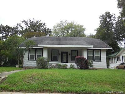 Shreveport Single Family Home For Sale: 325 Washington Street
