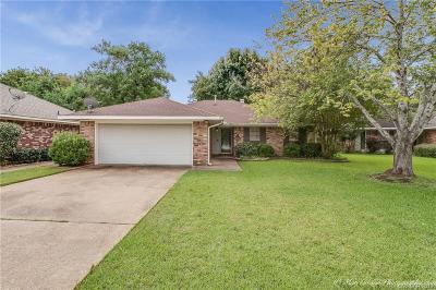 Bossier City Single Family Home For Sale: 2504 Palmetto Drive