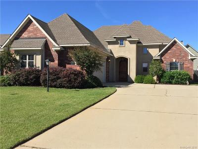 Haughton Single Family Home For Sale: 606 Aubrey Walk