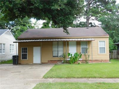 Bossier City Single Family Home For Sale: 1244 Dudley Lane
