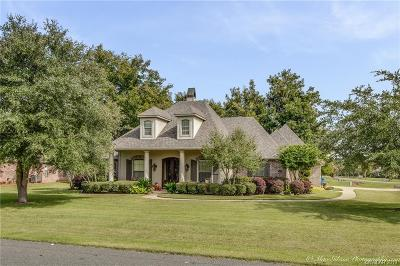 Bossier City Single Family Home For Sale: 542 Secret Cove