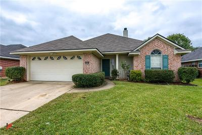 Bossier City Single Family Home For Sale: 6000 Pampus Lane