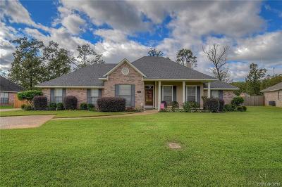 Haughton Single Family Home For Sale: 1804 Sparrow Ridge