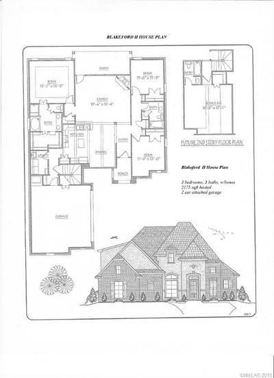 Haughton Single Family Home For Sale: 917 Antler