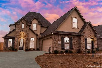 Haughton Single Family Home For Sale: 1324 Candle Wood Boulevard