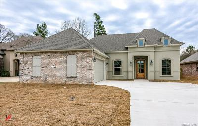 Haughton Single Family Home For Sale: 344 Wood Springs