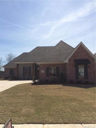 Benton Single Family Home For Sale: 165 Jamestowne Boulevard