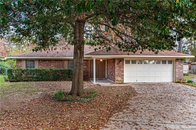 Haughton Single Family Home For Sale: 3503 Blue Willow