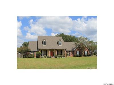 Bossier City Single Family Home For Sale: 351 Crosscreek Drive