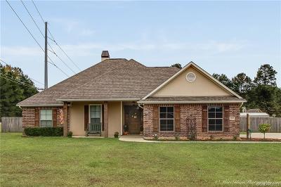 Haughton Single Family Home For Sale: 2103 Quail Creek Lane