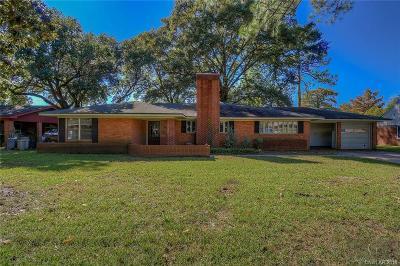 Shreveport Single Family Home For Sale: 819 River Road