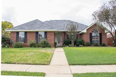Bossier City Single Family Home For Sale: 2201 General Taylor Drive