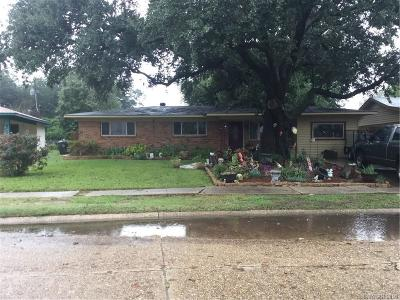 Bossier City Single Family Home For Sale: 3406 Palmdale Place