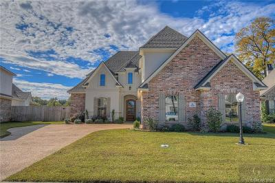 Bossier City Single Family Home For Sale: 656 Dumaine Drive