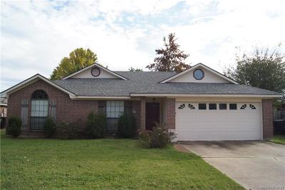 Bossier City Single Family Home For Sale: 2110 Robert E Lee Boulevard