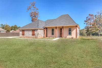 Haughton Single Family Home For Sale: 1213 Dry Creek