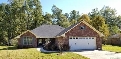 Benton Single Family Home For Sale: 1370 Palmetto Road