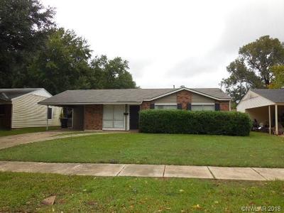 Bossier City Single Family Home For Sale: 3211 Impala Drive