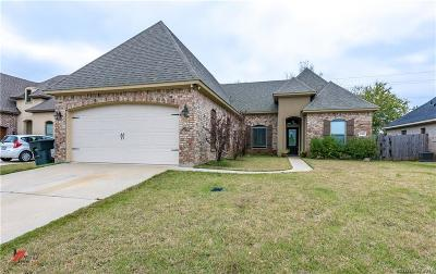 Bossier City Single Family Home For Sale: 1100 Antietam Circle